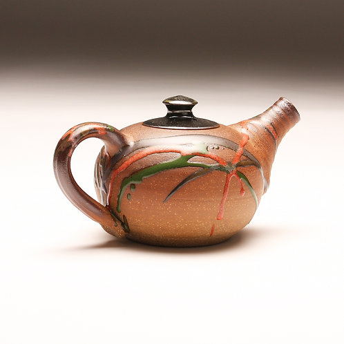 Woodfired Carnival Teapot
