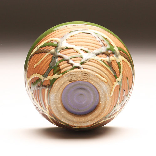Small Woodfired Carnival Bowl