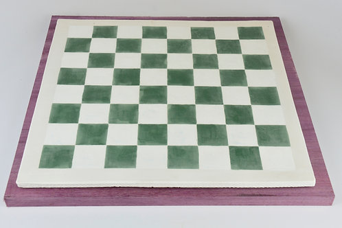 Checker Board 2 on solid wood