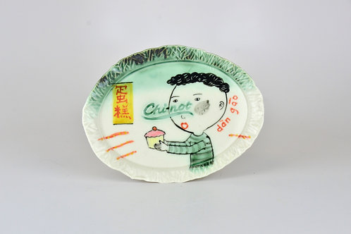 Cake Not Chinet Series, oval tray