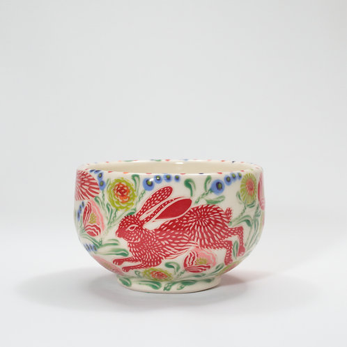 Red Wolf & Hare Bowl