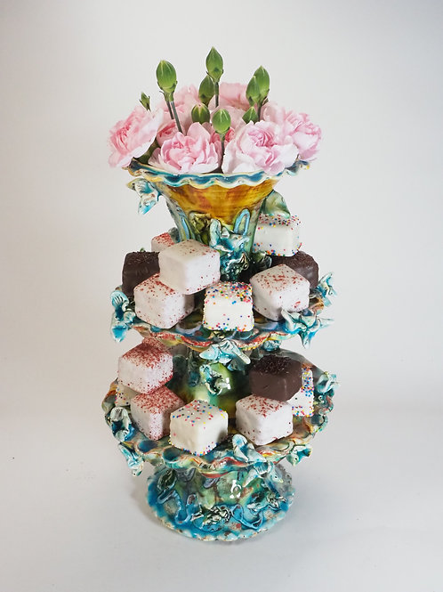 PetitFours Vase Tower