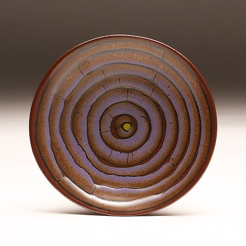 Purple Circles Platter