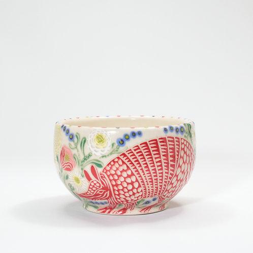 Red Armadillo Bowl
