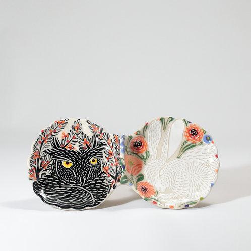 Owl & Hare Condiment Dish