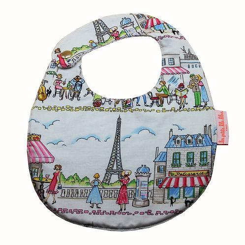Bavoir nouveau né Tour Eiffel