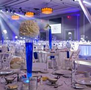 Ballroom Wedding Lighting in Oklahoma