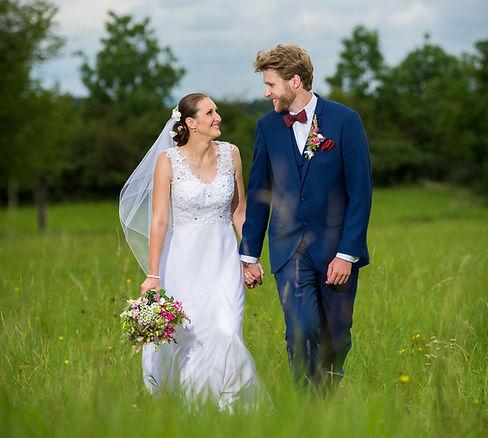svatební fotografie - romantika