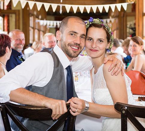 svatební fotografie - hostina