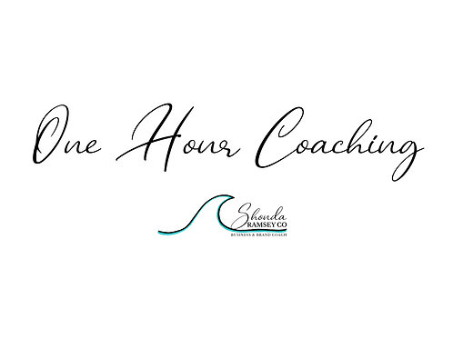 1 Hour Coaching Call - Add On