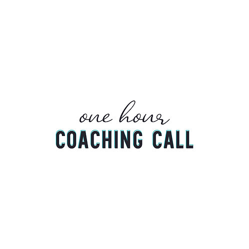 1 Hour Coaching Call Without Branding