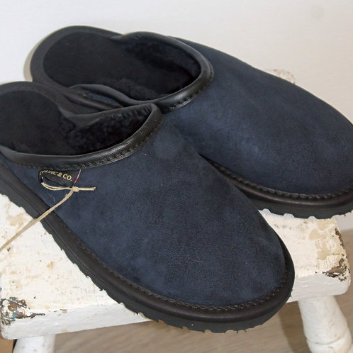 Mens sheepskin clog / slippers