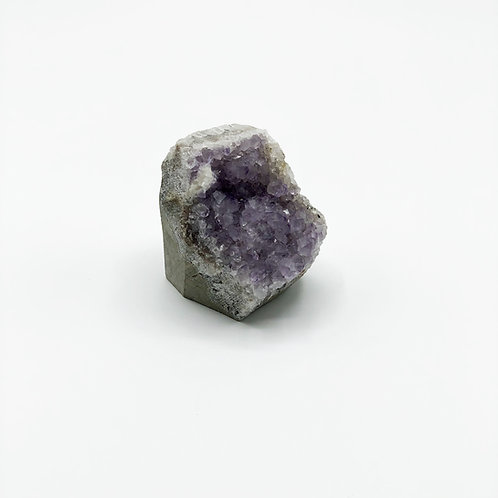 Pale Amethyst Geode