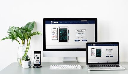 website responsive design