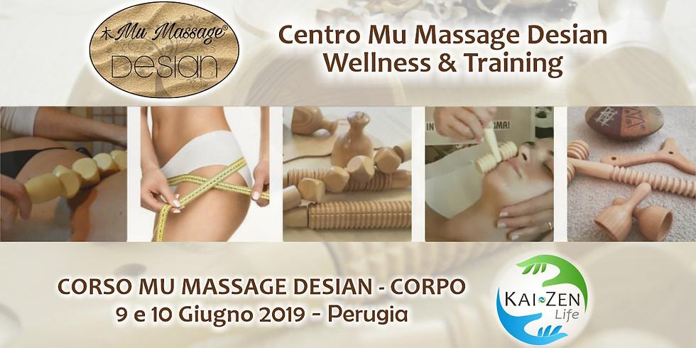 Corso Mu Massage Desian - Corpo
