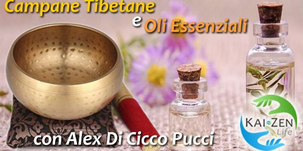 Campane Tibetane e Oli Essenziali