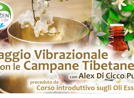 Viaggio Vibrazionale Campane Tibetane e Oli Essenziali ✦ Perugia