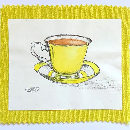 Yellow cuppa