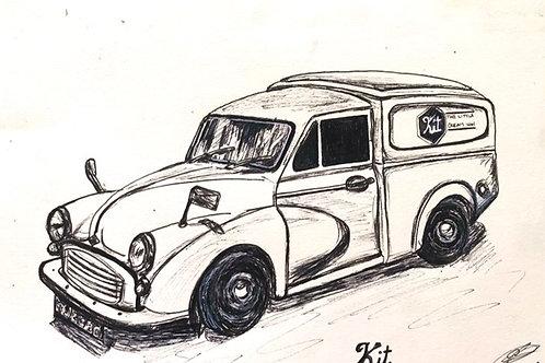 Kit the Little Cream Van