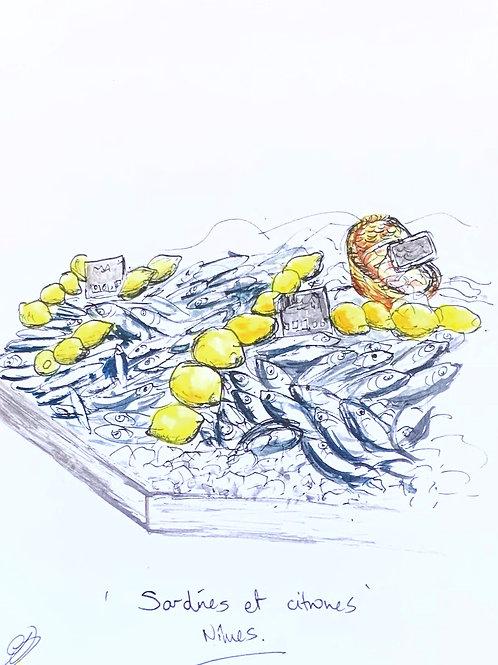 Sardines et Citrons