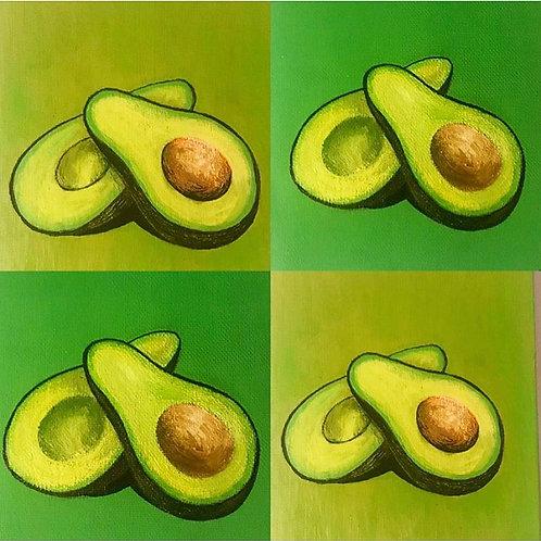 Avocado squares