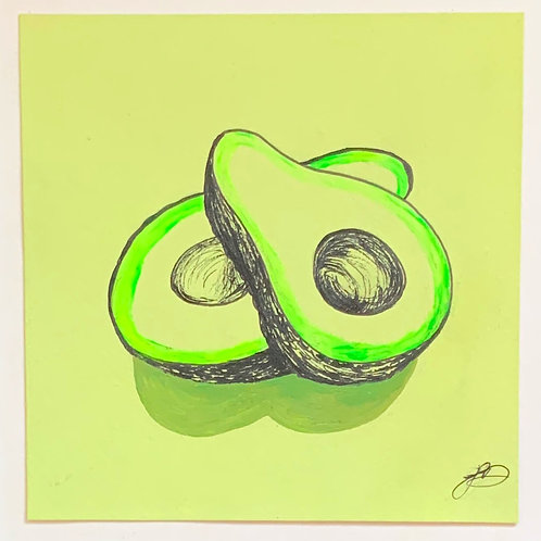 Neon Avocado