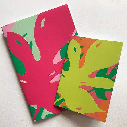 Monstera Notebook set