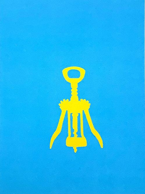 Yellow corkscrew