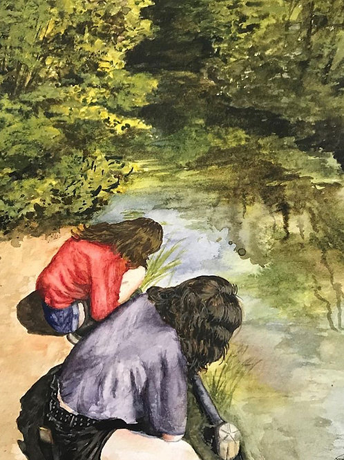 Girls by the River