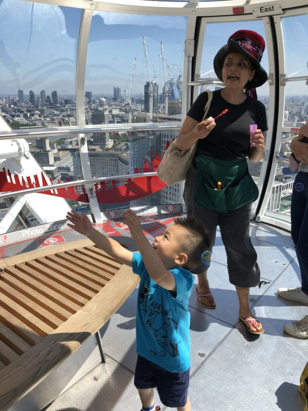 Storytelling on The London Eye