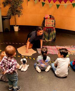Storytelling at The Peel Institute
