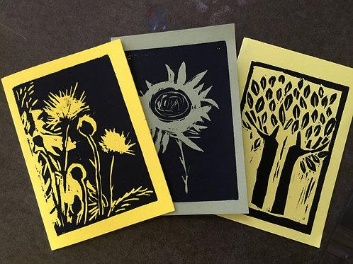 Three Printmaking Techniques November 15 – 17, 2019