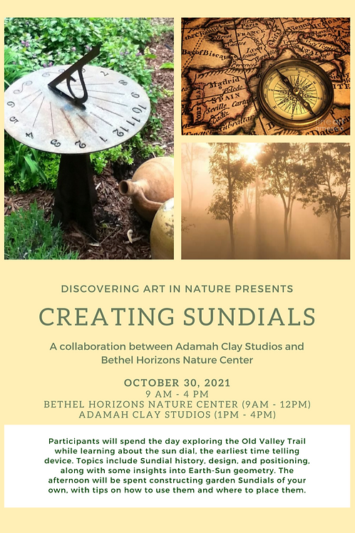 2021 Creating Sundials Workshop - Oct. 30