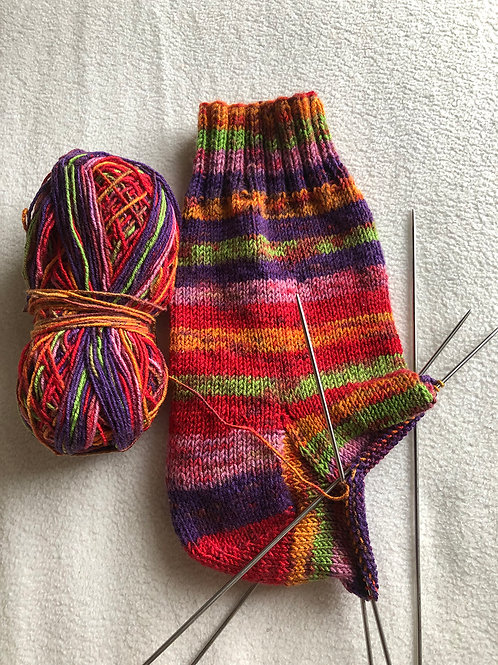 2021 Learn to Knit Socks! -Sept. 26