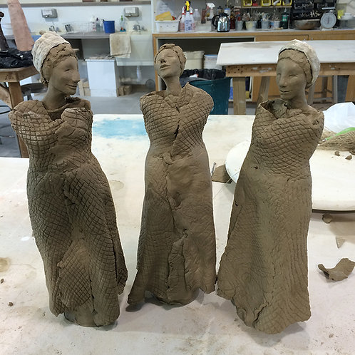 2020 Hand Building with Paper Clay August 1