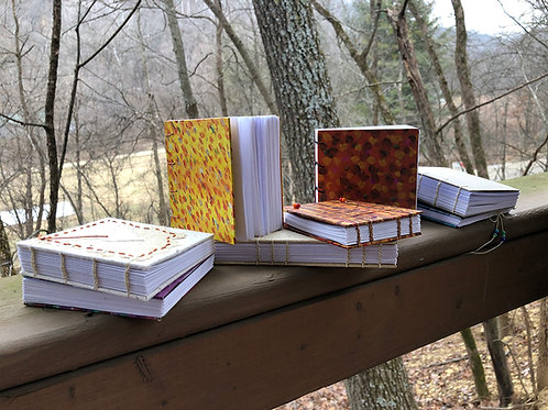 2021 Handcrafted Journals - Learn the Ancient Coptic Stitch -  March 20