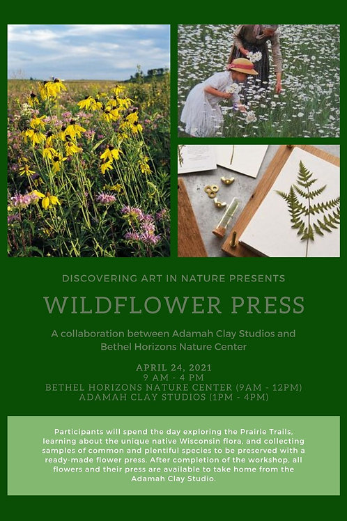 2021 Wildflower Press Workshop - April 24