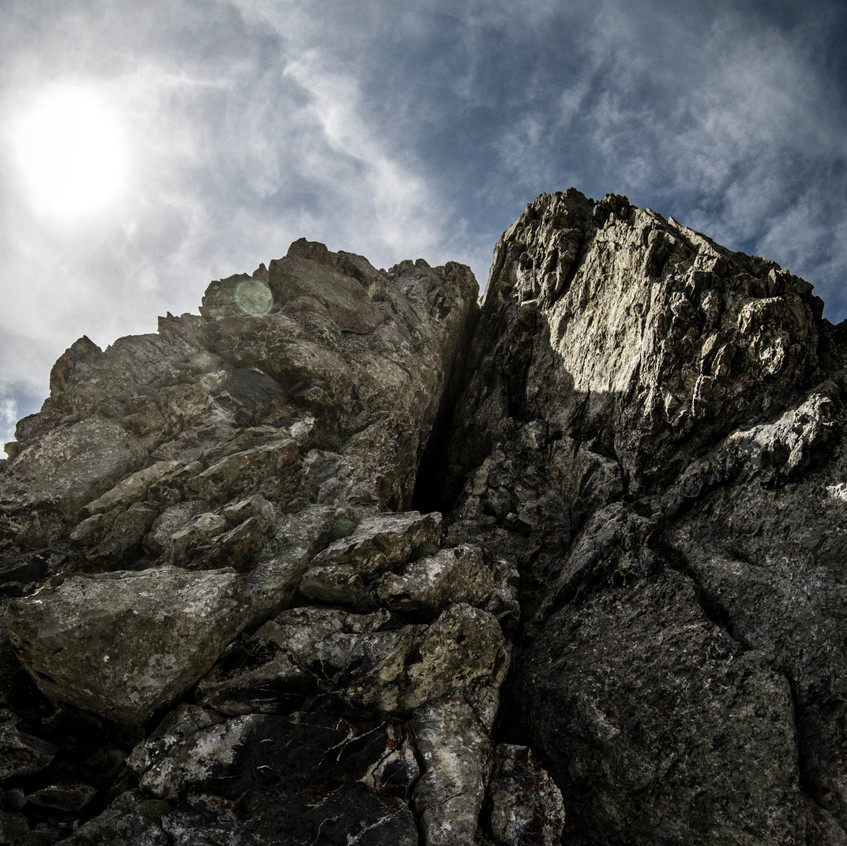 The Crux to downclimb