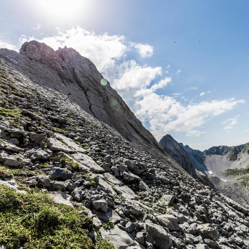 The last ridge for today!