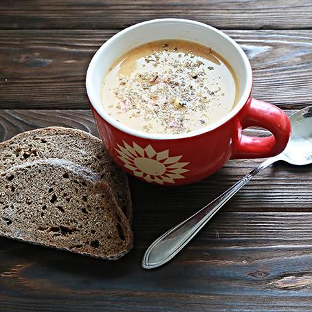 Суп по-норвежски с треской