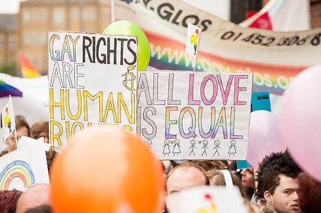 Glos Pride 2016 Placard