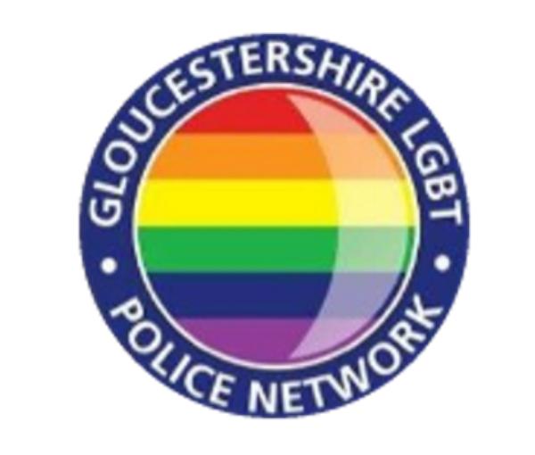 Gloucestershire LGBT+ Police Network Logo
