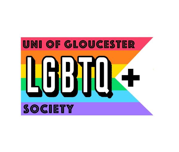 UoG LGBT+ Society Logo