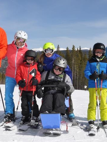 Bill Skiing in Breckenridge