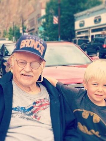 Bill & his Grandsons