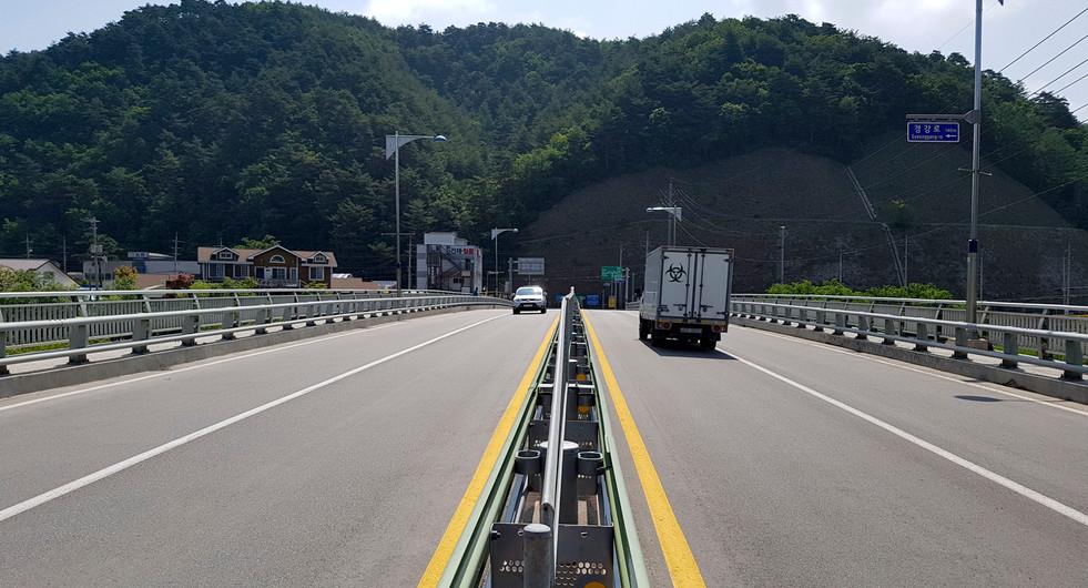 국도6호선 장평교외 1개교 교면포장 보수공사