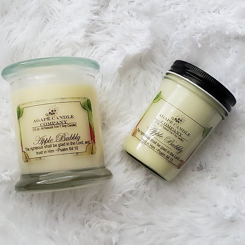 Applevescent - Lotion & Massage Candle