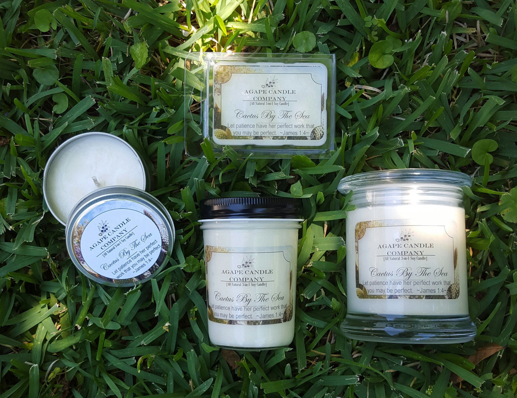 Agape Candle Company | United States | Scented Soy Candles