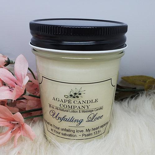 Unfailng Love - Lotion & Massage Candle
