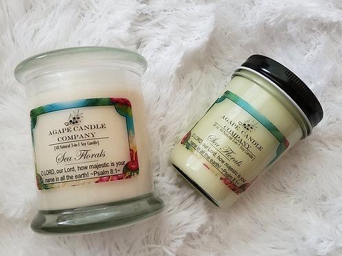 Sea Florals - Lotion & Massage Candle